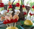 Brochettes ap�ritives