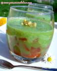 Verrine fracheur concombre-tomate