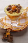Verrine de marrons exotique