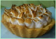 Tarte citron meringue framboises