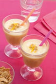 Milk shake aux c�r�ales,  orange et gingembre
