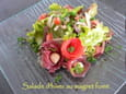 Salade d hiver au magret fum