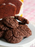 Double mix cookies et gteau au chocolat
