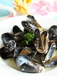 Moules marinires  la crme