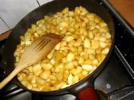 Tarte aux pommes caramélisées inratable : Etape 1