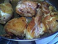 Poulet au lait de coco, tomates et safran : Etape 4