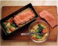 Terrine de saumon aux légumes : Etape 2