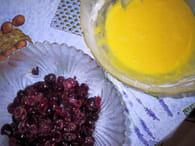 Clafoutis aux cerises : Etape 3
