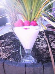 Milk-shake aux fraises : Etape 3