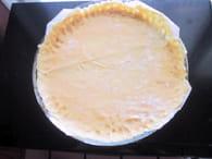 Tarte aux 3 fromages : Etape 1