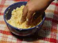 Beignets de pommes de terre : Etape 1
