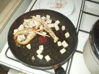 Spaghetti au saumon et fruits de mer : Etape 5