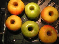 Pommes au four : Etape 1