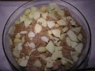 Gâteau aux pommes et aux noix : Etape 3