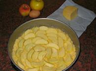 Gâteau aux pommes caramélisées : Etape 1