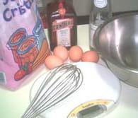 Omelette soufflée : Etape 1
