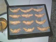Croissants au beurre : Etape 5