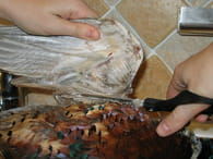 Préparer un faisan : Etape 2