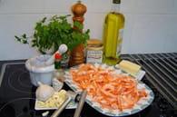 Crevettes à l'ail : Etape 3
