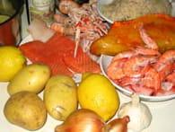 Choucroute de la mer : Etape 1