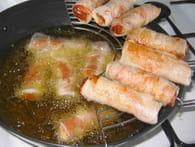 Nems au porc, concombre et gingembre : Etape 6