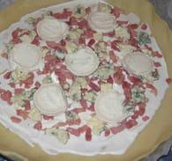 Pizza aux 4 fromages : Etape 4