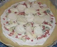 Pizza aux 4 fromages : Etape 5