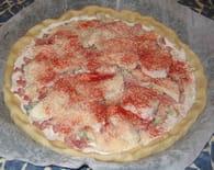 Pizza aux 4 fromages : Etape 6