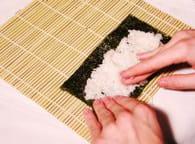 Makis sushis : Etape 2