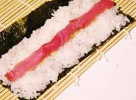 Makis sushis : Etape 3