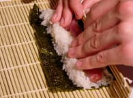 Makis sushis : Etape 4