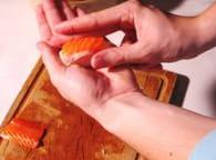 Nigiris sushis : Etape 3
