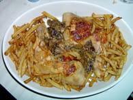 Cuisse de poulet façon campagnarde : Etape 5