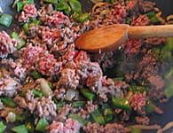 Empanadas au boeuf : Etape 2