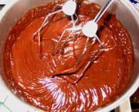 Chantilly de chocolat : Etape 2