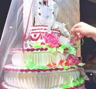 Pièce montée de mariage maison : Etape 6