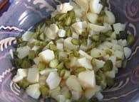 Salade piémontaise : Etape 5
