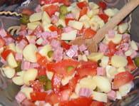 Salade piémontaise : Etape 6
