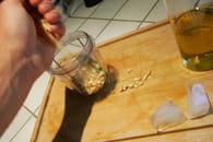 Spaghettis et pesto au basilic : Etape 3
