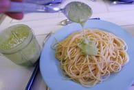 Spaghettis et pesto au basilic : Etape 6