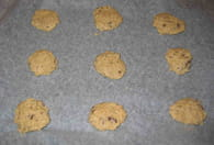 Cookies aux flocons d'avoine express : Etape 5