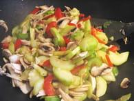 Nouilles chinoises faciles au poulet : Etape 2
