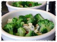 Petits flans au brocoli et au roquefort : Etape 4