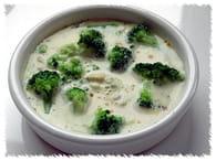 Petits flans au brocoli et au roquefort : Etape 5