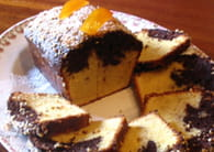 Cake à l'orange et au chocolat : Etape 6
