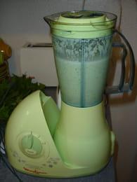 Soupe fraîche de concombre : Etape 3