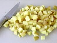 Patatas bravas à ma façon : Etape 1
