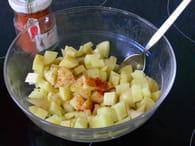 Patatas bravas à ma façon : Etape 2