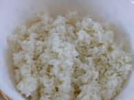 Salade de riz : Etape 1