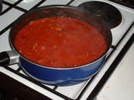 Lasagnes maison : Etape 1
